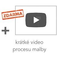 krátké video procesu malby