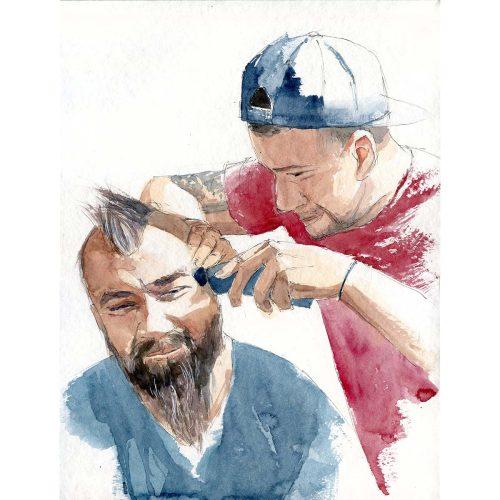Jaro 2021, karanténa, Holičství - Spring 2021, quarantine, Barbering